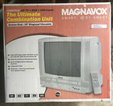 "Magnavox 19MDTR20/17 19"" CRT TV/DVD/VCR Combo with Remote NIB Retro Video Gaming"