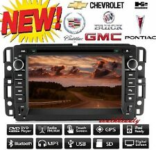 "7"" 2 Din Car DVD GPS Stereo Radio Navi Bluetooth For GMC Chevrolet Buick 2007-13"