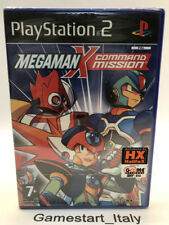 MEGAMAN X COMMAND MISSION - PS2 - NEW SEALED PAL VERSION - RARE PLAYSTATION 2