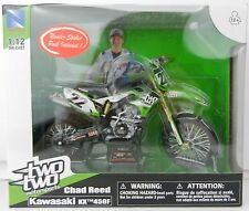 NEWRAY 1:12 *KAWASAKI* KX 450F DIRT BIKE *CHAD REED #22* SUPERCROSS *NIB*