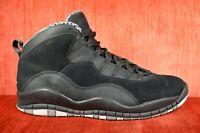 CLEAN NIKE AIR JORDAN X 10 BLACK STEALTH BB 310805 003 Size 10