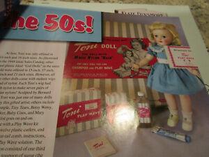 9pg Hair Care Dolls of 50s History Article - Ideal Toni & Revlon+ / Keeter