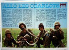 LES CHARLOTS => coupure de presse 2 pages 1971