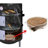 Stainless Steel Cold Smoke Generator BBQ Burn Smoker Box Grill Fish Salmon Meat
