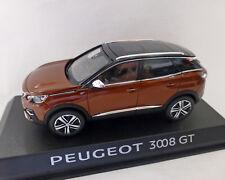 Peugeot 3008 GT 2016, kupfer-Metallic, 1:43 NOREV