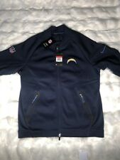 BRAND NEW NIKE LOS ANGELES CHARGERS SIDELINE COACHS FULL ZIP THERMJACKET  size L 85fb3034d