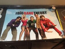 THE BIG BANG THEORY POSTER Amazing Cast RARE 24x36