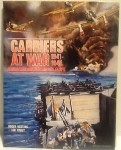 Carriers at War 1941-1946 Commodore 64 Folder Software C64 1984 WWII Simulator