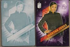 DOCTOR WHO TIMELESS MARTHA JONES COMPANION CARD #4/10 CYAN PRINTING PLATE #1/1