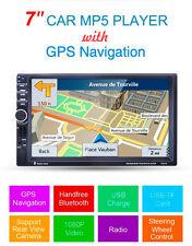 """7"""" 2Din HD Coche Bluetooth Estéreo Radio FM MP3/5 Reproductor Multimedia GPS Navegación"""