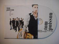 TOM POISSON : AH ! SI J'AVAIS SU ♦ CD SINGLE PORT GRATUIT ♦