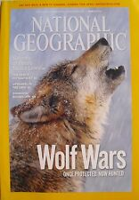 WOLF WARS March 2010 NATIONAL GEOGRAPHIC  Peru's Nasca Lines  SHANGHAI SHOWS OFF