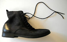 marsell BLACK DISTRESSED SUEDE boots usa8  it41 NEW