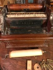 Reed-Pipe Clariona 14-note Organette Roller Organ