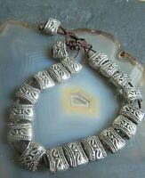 beduinen stil ethno armband tibetsilber unsisex 1 42g