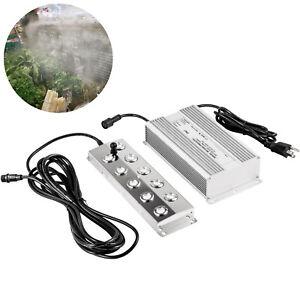 VEVOR 10 Head 110V Pond Ultrasonic Mist Maker Pond Fogger Humidifier Waterproof