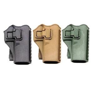 Tactic Waist Belt Right Hand Paddle Gun Pistol Holster for Glock G17 19 22 23 31