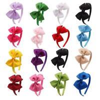 Girls Hair Hoop Band Bow Knot Headband Headwear Hairband Accessories P4G2