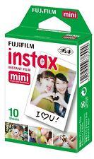Fujifilm Instax Mini Instant Film, 10 Sheets of 1 Pack (10 Sheets)