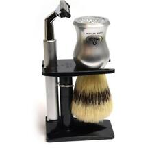 COMPLETO DA BARBA CON RASOIO GILLETTE GII G2 PENNELLO IN SETOLA SHAVING KIT