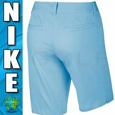 Nike Golf Women's Size 4 Washed Bermuda Short Copa Blue  803051-466