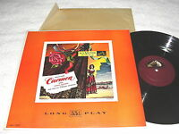 "Stokowski/New York ""Bizet: Music From Carmen"" 1951 LP, Nice EX!, RCA #LM-1069"