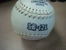 3 Dudley Sb 12Lnd Official Softball Cork Center Leather
