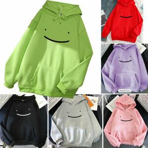 Smile Mens Womens Dream Smp Hooded Hoodie Pullover Sweatshirt Trend Sweatshirts