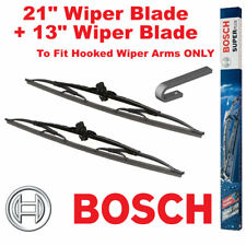 "Bosch Super Plus Front Wiper Blades 21"" Inch SP21 and 13"" Inch SP13 Pair Windscr"