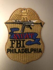 Pennsylvania   Police - FBI Philadelphia SWAT  Police  Patch
