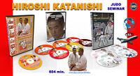 Judo. Raccolta di 11 DVD. Hiroshi Katanishi. 604 minuti.