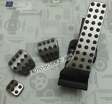 Original Mercedes Benz Sport Pedal Pads Set Stainless Steel CE Class Coupe