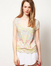 Warehouse Fluro Sequin T-Shirt 14