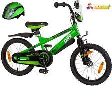 Little-Dax Kinderfahrrad 16 Zoll TIMMY grün/schwarz mit Helm 552-LD-94