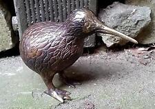 bronze Metall KIWI ca 12cm Vogel Neuseeland New Zealand Figur NEUSEELAND