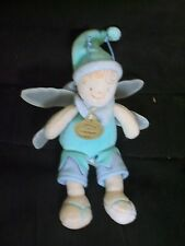 Doudou poupée papillon DOUDOU et COMPAGNIE en velours plat 16 cm TBE