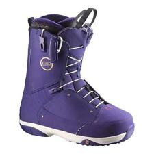 2016 Salomon Kiana Purple Size 8.5 Women's Snowboard Boots