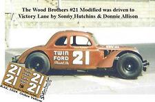 CD_108 #21 Sonny Hutchins & Donny Allison   1:64 decals