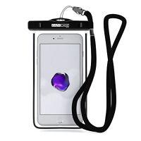Wasserdichte Tasche Handytasche Hülle Case Unterwasser Cover 6.0 Zoll Schwarz