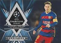 2015-16 Topps UEFA Champions League Showcase 'Champions Pedigree' - Variations