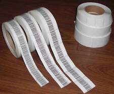 2000 Barcode Paper Security Label 1.5X1.5 Inch Rf 8.2Mhz Checkpoint Eas 40 mm