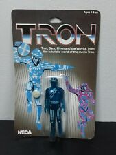 New listing Carded Tron Flynn Retro Translucent Blue Action Figure by Disney x Neca