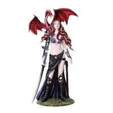 Furionchires Warrior Fairy Baby Dragon Figurine Faery Figure Nene Thomas statue