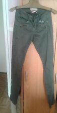 pantalon slim kaki t 32