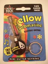 Porte-clefs musical Beatles en forme de guitare