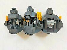 Connecteur de branchement souterrain BT unipolaire pour 2 dérivés CB2P/CS 240