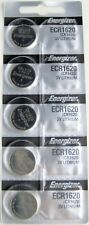 10 Energizer CR1620 Lithium Batteries
