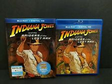 Indiana Jones And The Raiders Of The Lost Ark Blu-ray w/ Oop Rare Slipcover