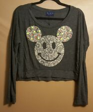 The Clas-sic Micky Mouse Studded t-shirt in Women's size (M) MADE IN USA!