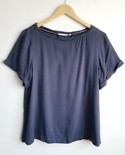 WHITE STUFF LADIES OVERSIZED SPOTTED CASUAL TOP SIZE 10
